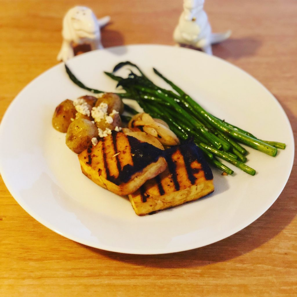 Grilled BBQ Tofu